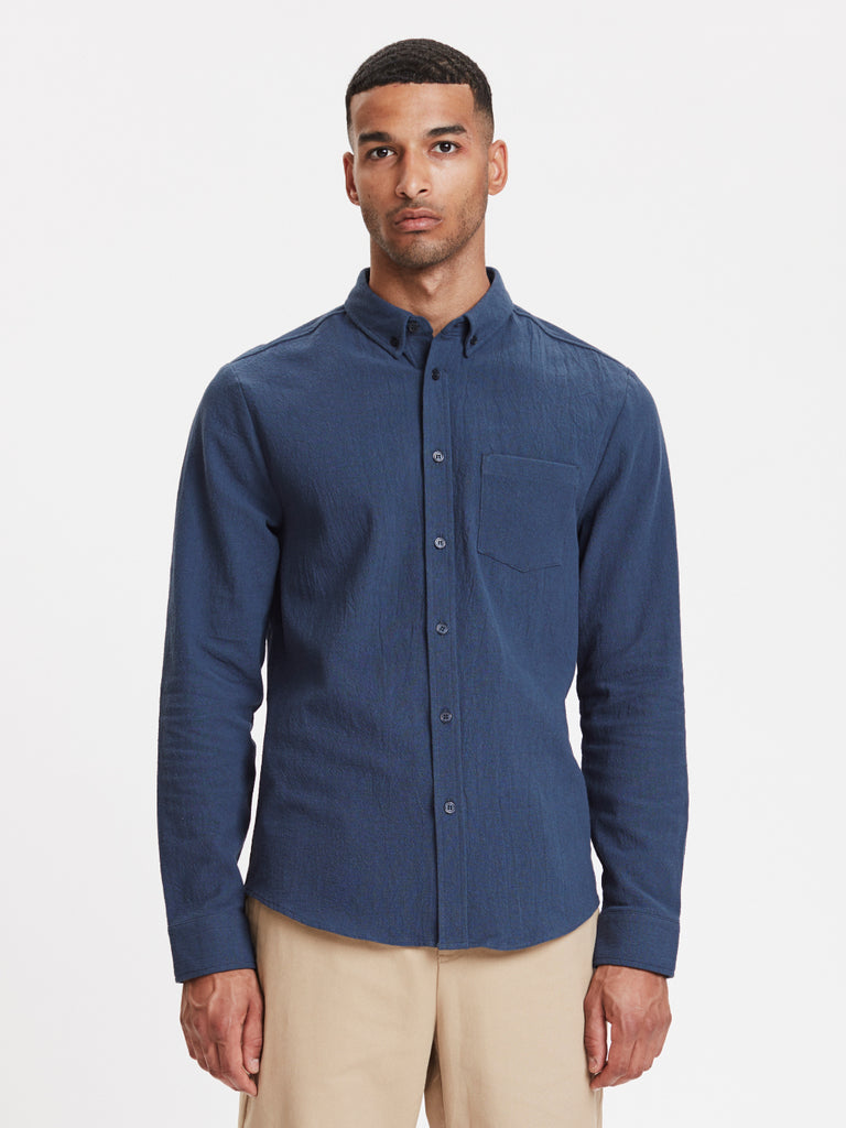 Lagos Shirt | Navy