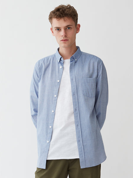 Ocean Oxford Shirt | Light Blue