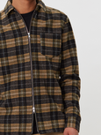 Cardiff Shirt | Yellow & Black Check