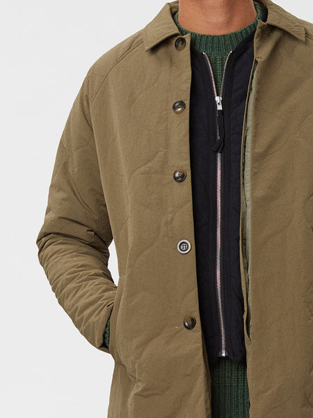 Atlas Coat | Army Green
