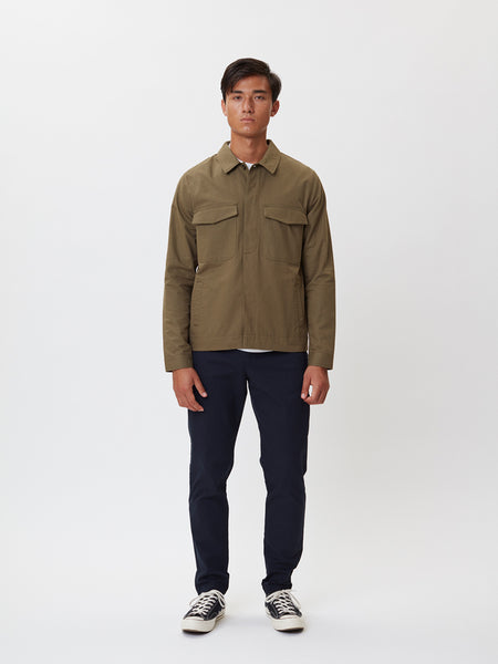 Baton Jacket | Army Green