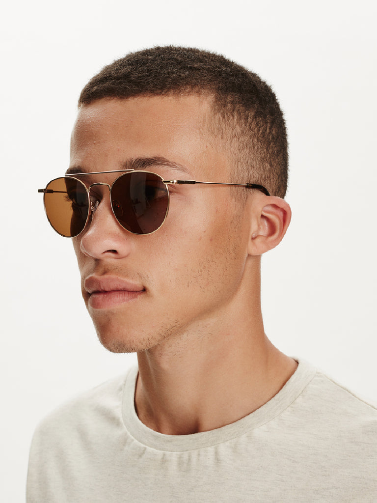 Santiago Sunglasses | Gold