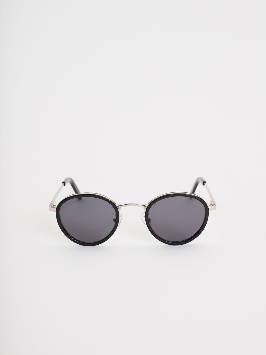 Macau Sunglasses | Black & Silver
