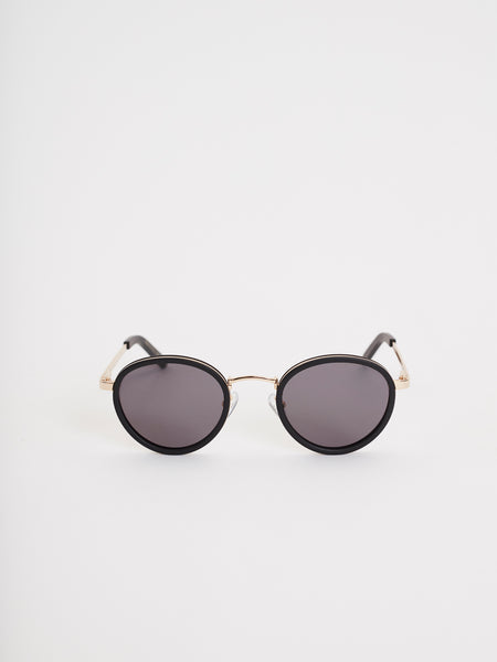 Macau Sunglasses | Black & Gold