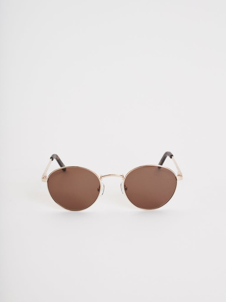 Aruba Sunglasses |  Gold Metal