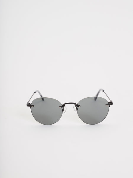 Medellin Sunglasses | Rimless Black