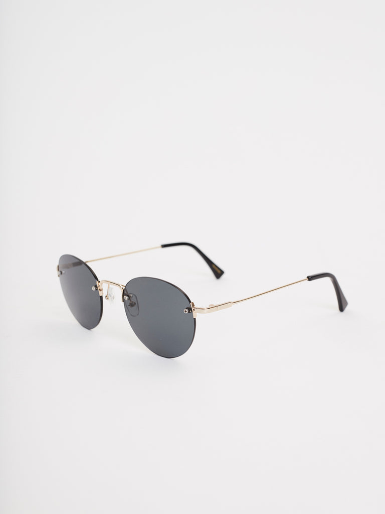 Medellin Sunglasses | Rimless Gold