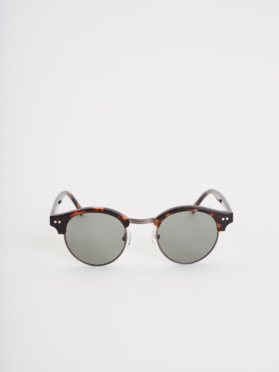 Cartagena Sunglasses | Dark Tortoise & Gun Metal
