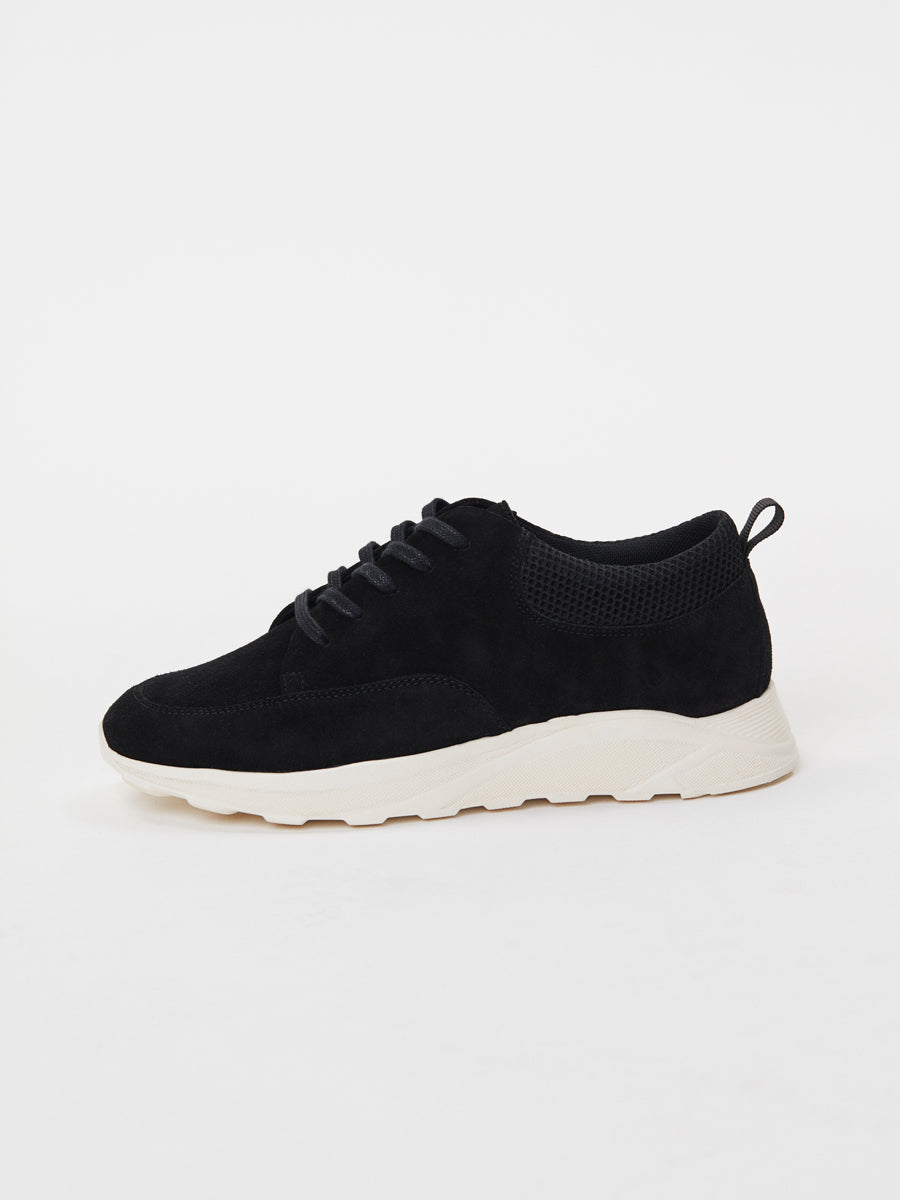 Pismo Runner | Black Suede