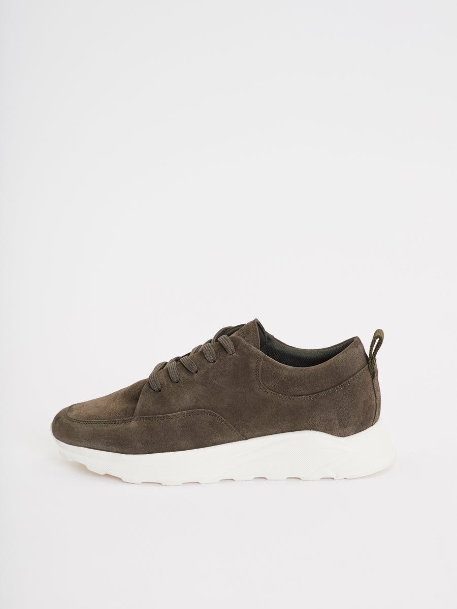 Pismo Runner | Olive Suede