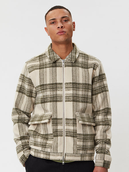 Ortega Jacket | Beige Check