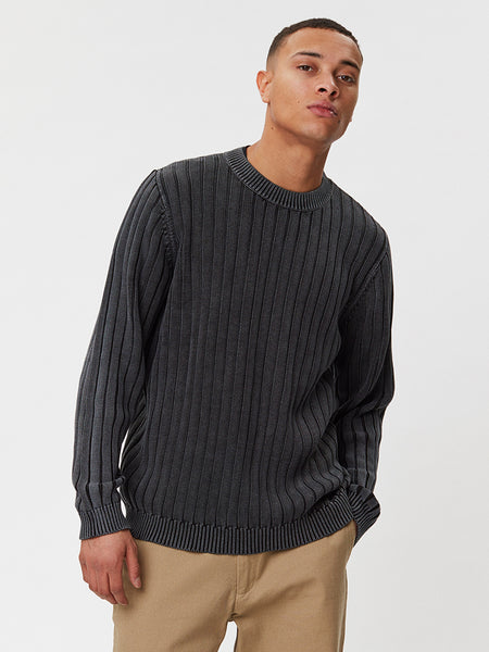Zaragoza Knit | Acid Black