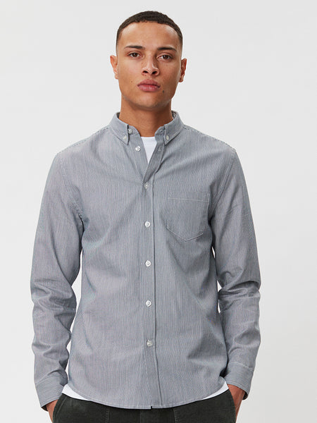 Lagos Shirt | Blue Stripe