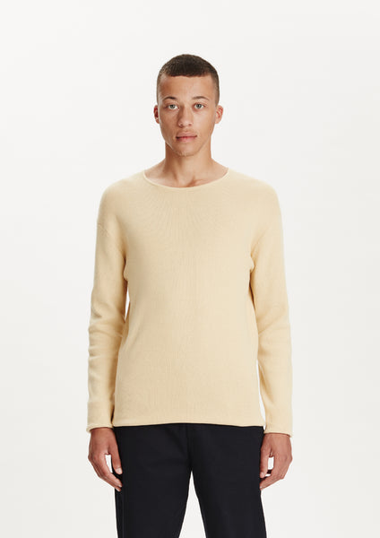 Legends Men's basic Yellow Cofu Pullover Knit