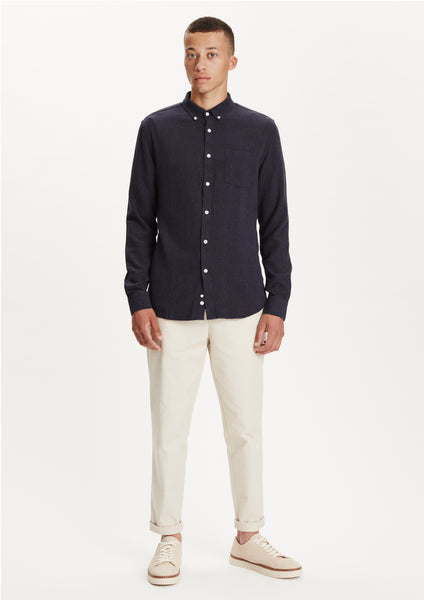 Legends Men's Navy Lagos Button-Down Shirt