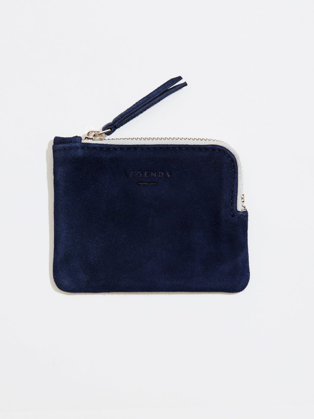 Frankport Suede Wallet | Navy Blue