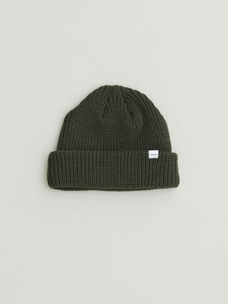 Northern Beanie | Dark Olive