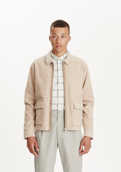 Legends Men's Beige Corduroy Ortega Jacket
