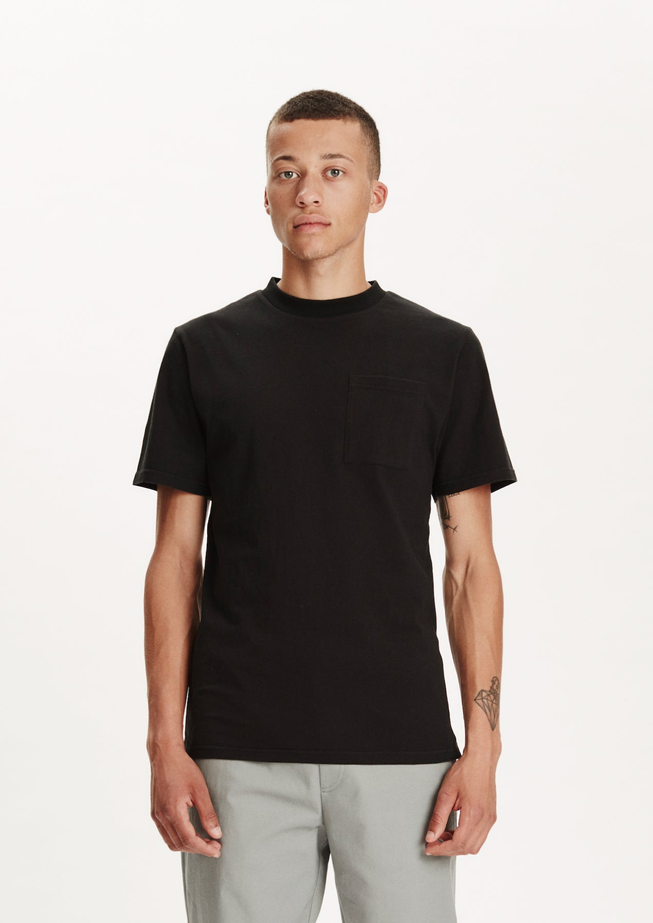 Legends Men's Pena Black Pocket T-shirt