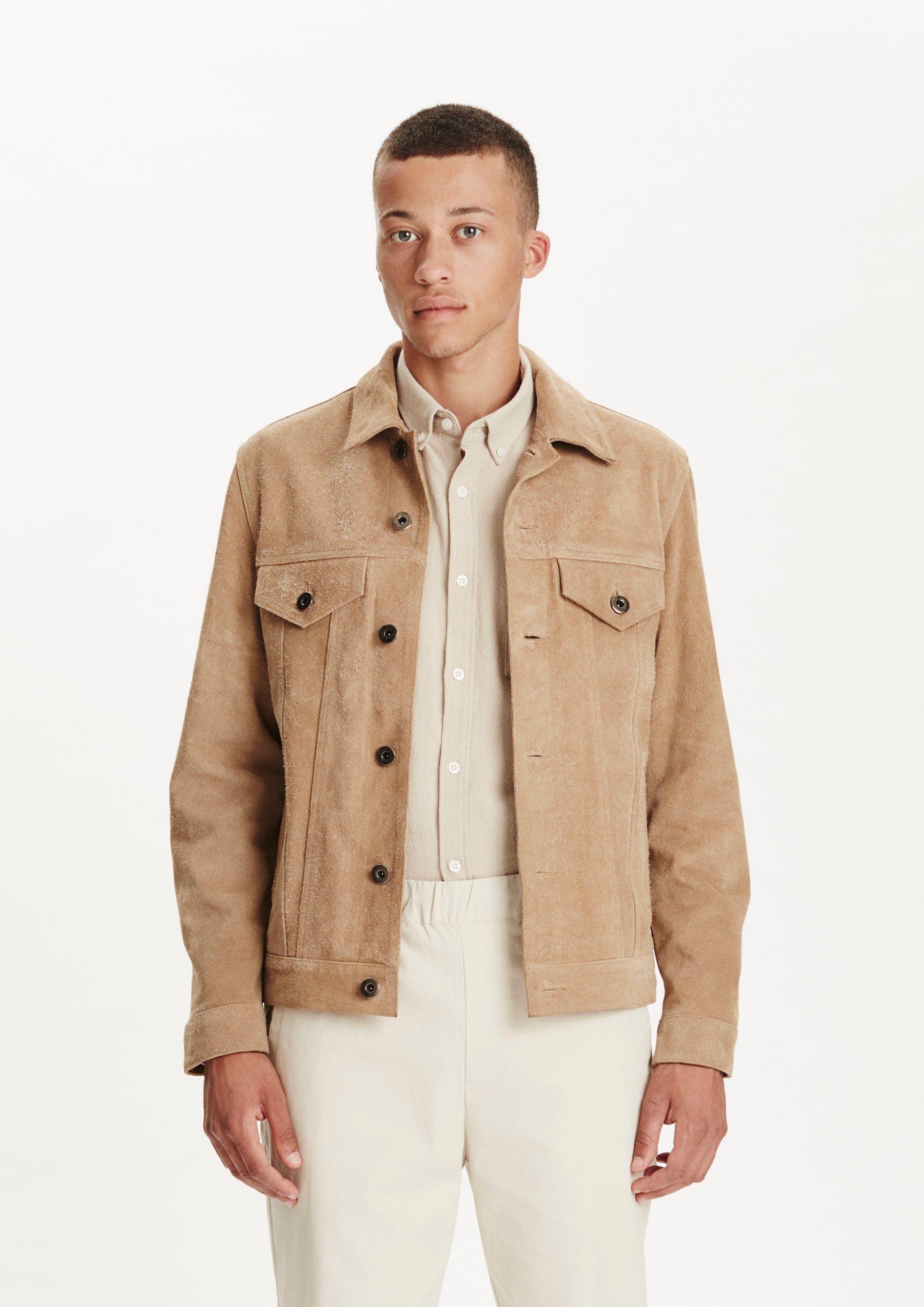 Legends Ponta Suede Jacket camel