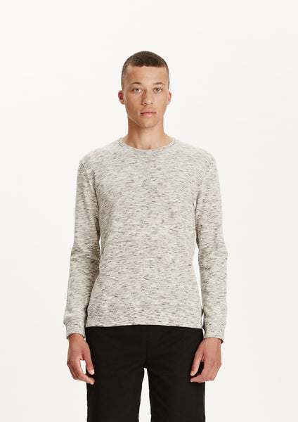 Legends Men's White Melange Santino Sweatshirt