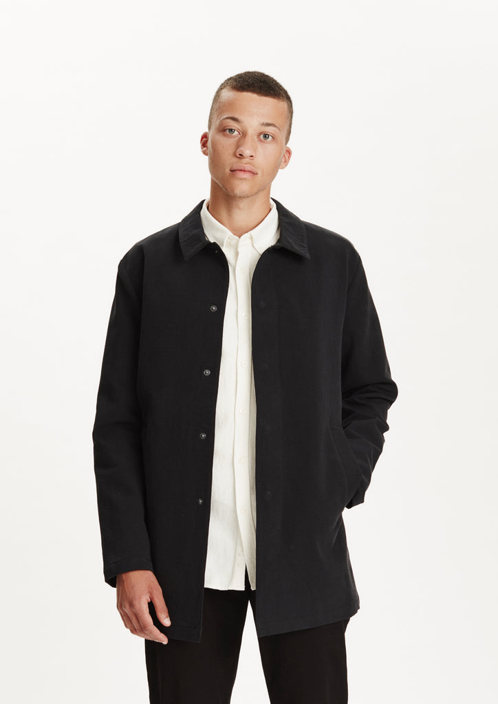 Legends Men's Spring Mac Coat Black