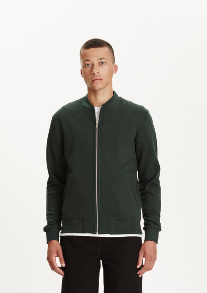 Legends Men's Bottle Green Zuma Zip Sweatshirt