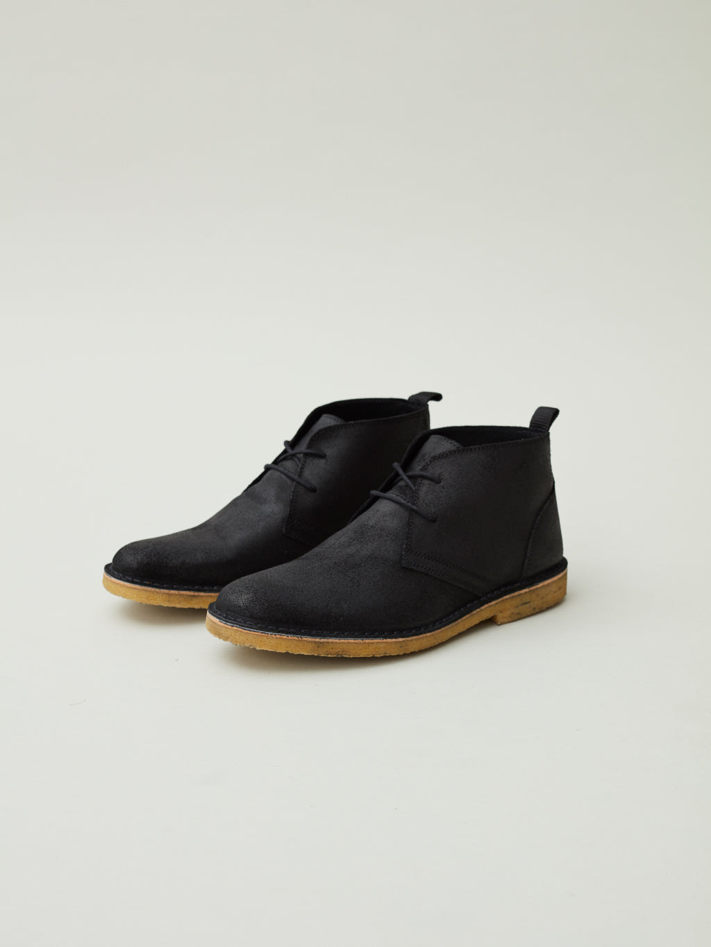 Herman Desert Boots | Black