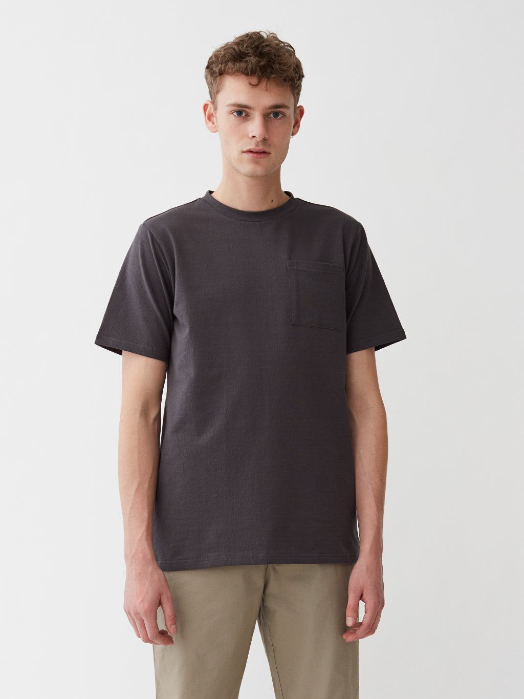 Faro Pocket T-Shirt | Dark Grey