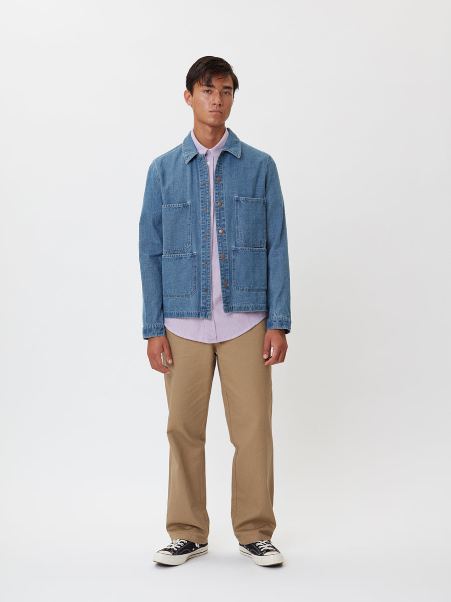Dover Denim Jacket | Washed Denim