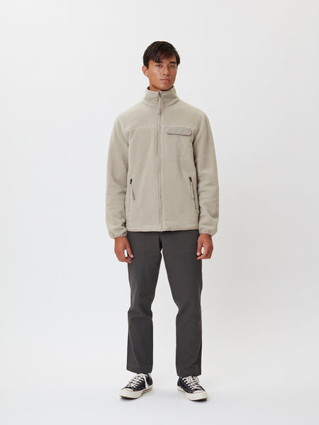 Kodiak Fleece Jacket | Ecru