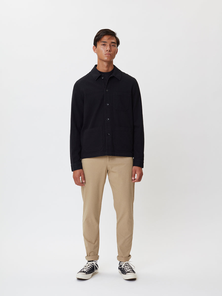Napoli Work Shirt | Black