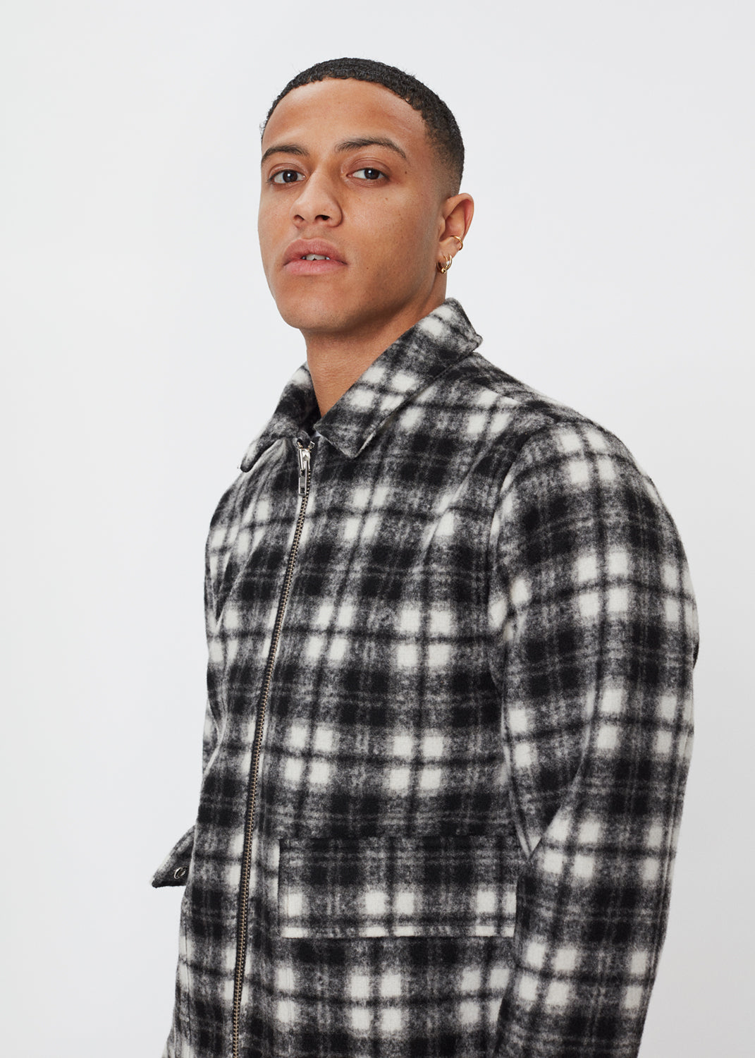 Ortega Jacket | Black Check