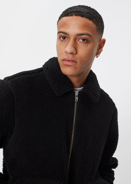 Ortega Sherpa Jacket | Black