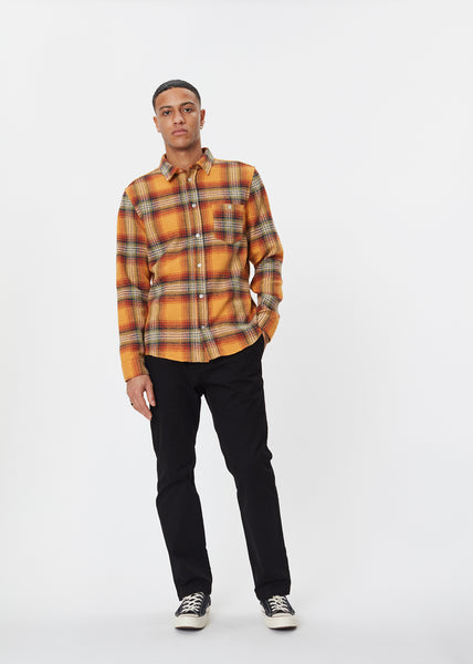 Odessa Check Shirt | Orange Check