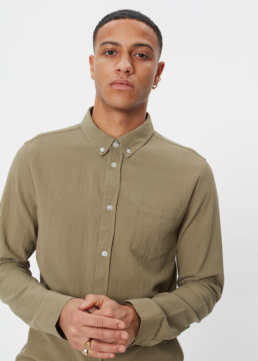 Lagos Shirt | Sage Green