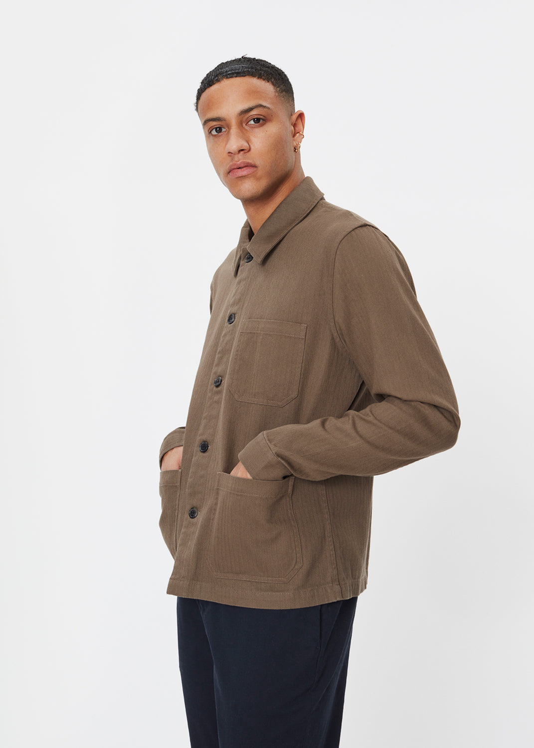Napoli Work Shirt | Taupe
