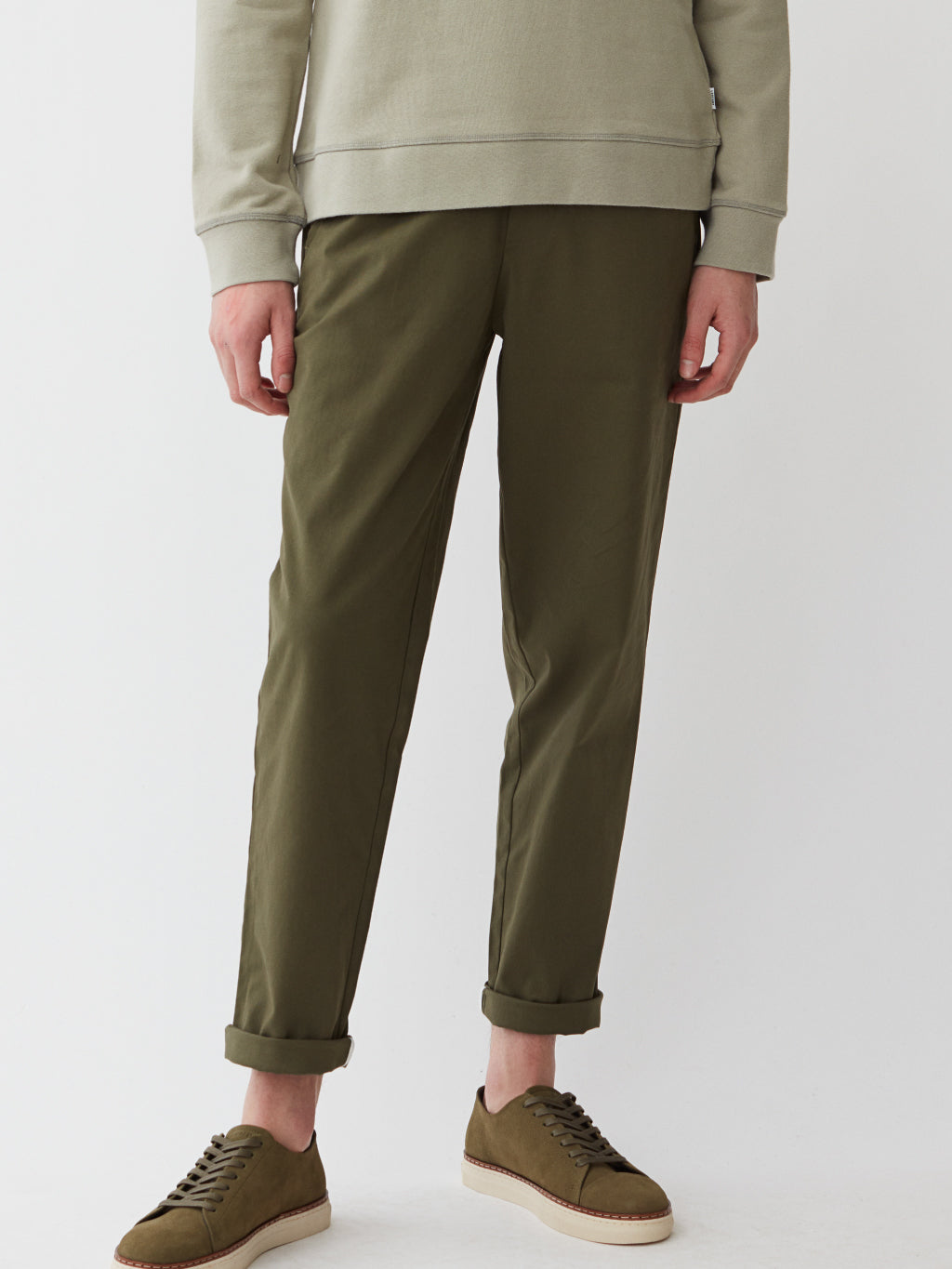 Century Trousers | Moss