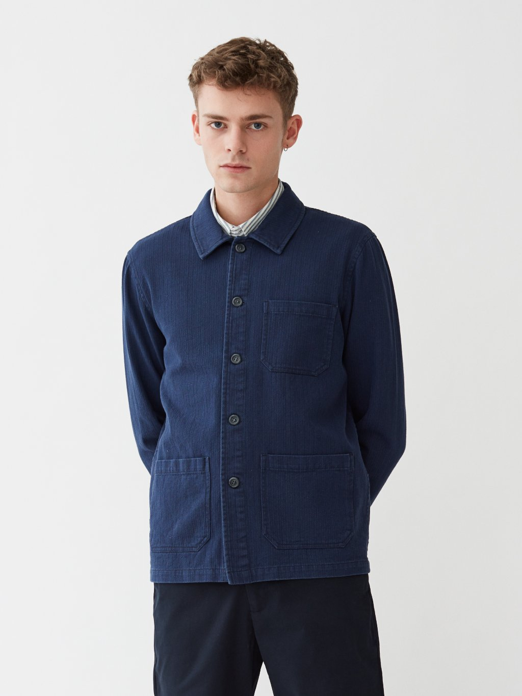 Napoli Work Shirt | Navy