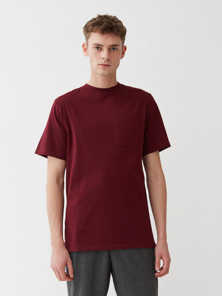 Pena T-Shirt | Red Wine