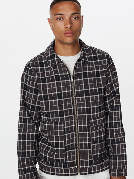 ORTEGA CHECK JACKET