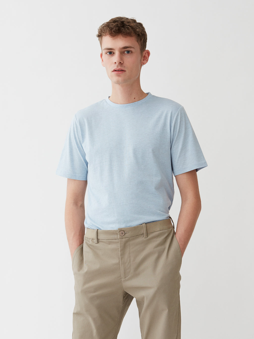 Harbour T-Shirt | Sky Melange