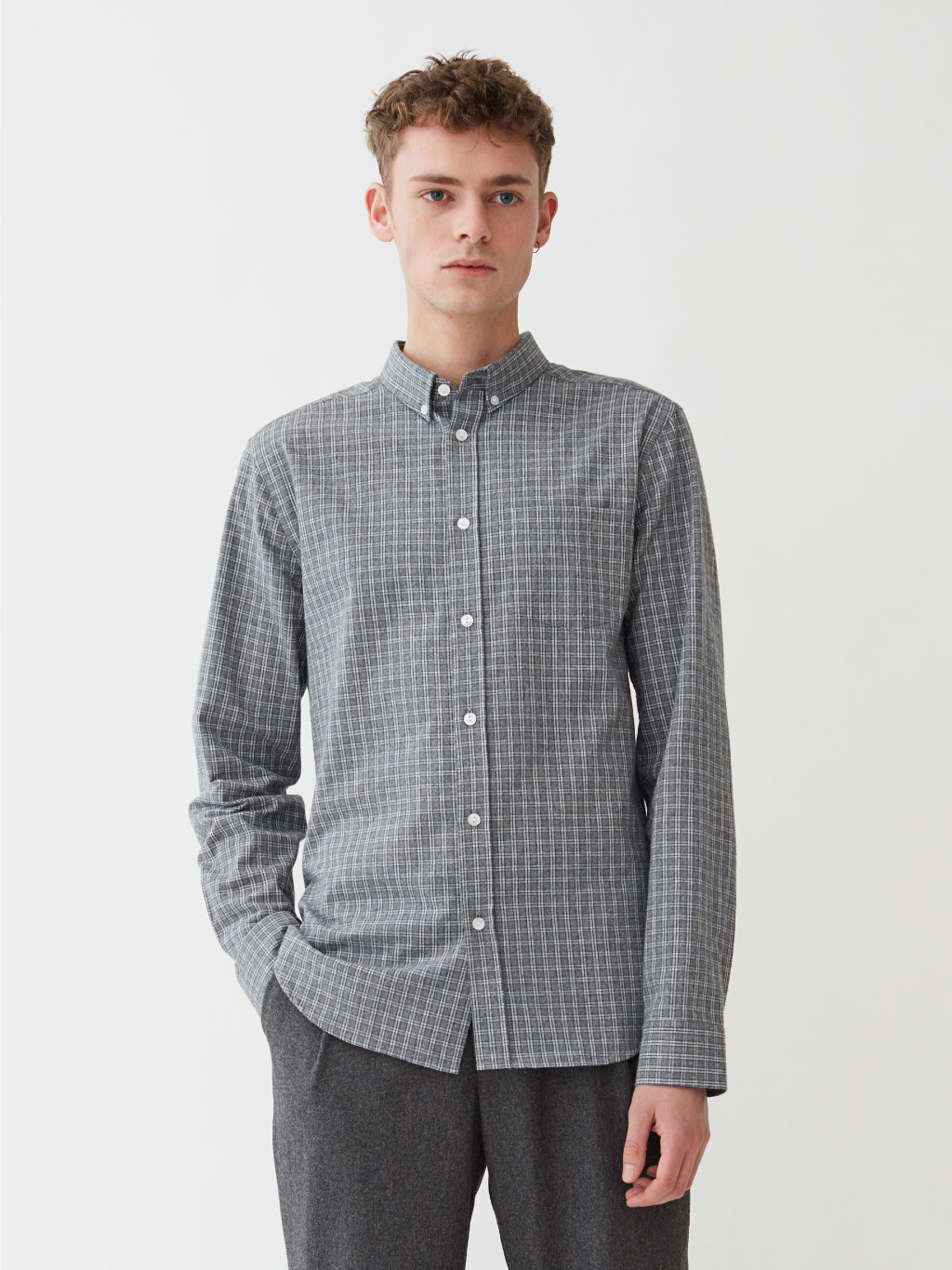 Toronto Shirt | Grey Check