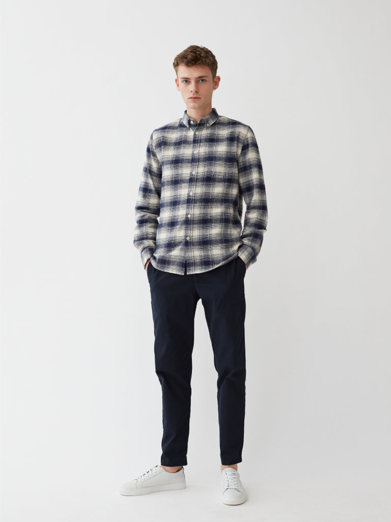 Willimon Shirt | White Check