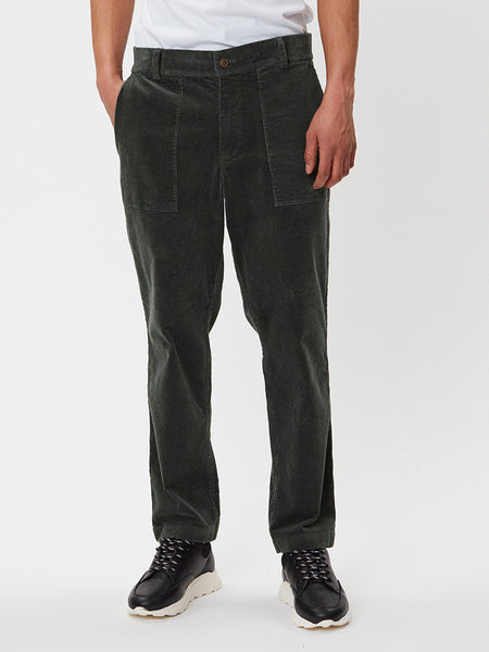 Ventura Corduroy Trousers | Dark Green
