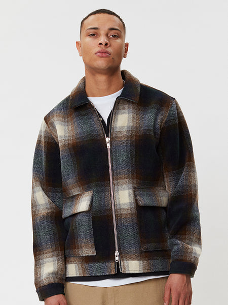 Ortega Jacket | Brown Check