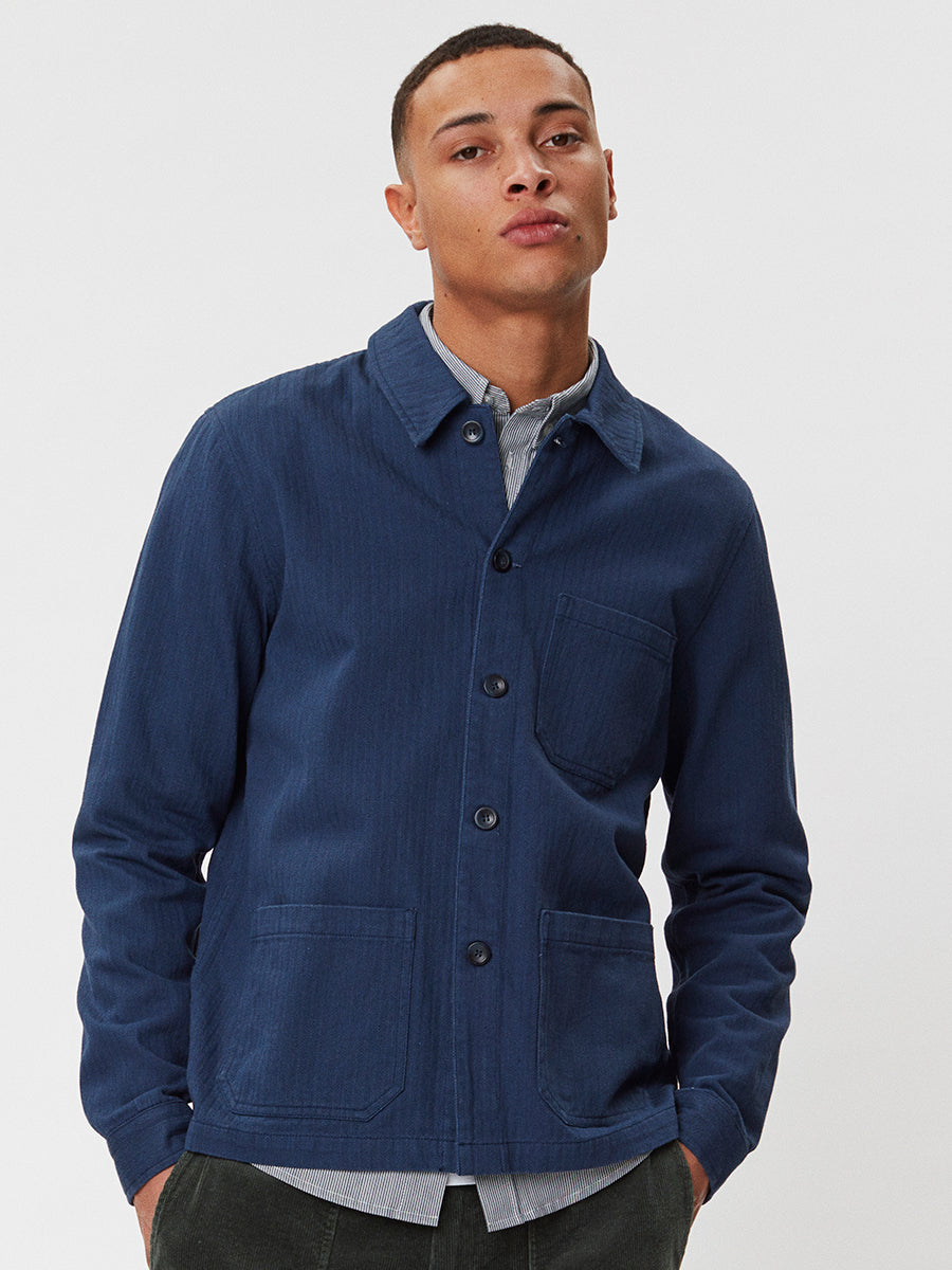 Napoli Work Shirt | Blue