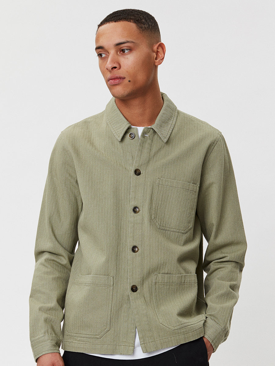 Napoli Work Shirt | Sage Green