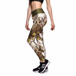 Woman's Owl Fitness Leggings
