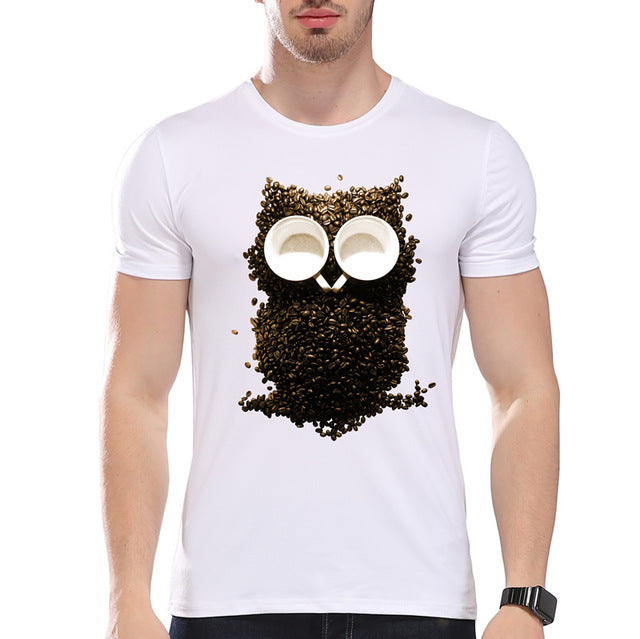 Men's Coffee Beans Owl'Pride T-Shirt